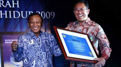 Bandung Raih penghargaan Best Effort