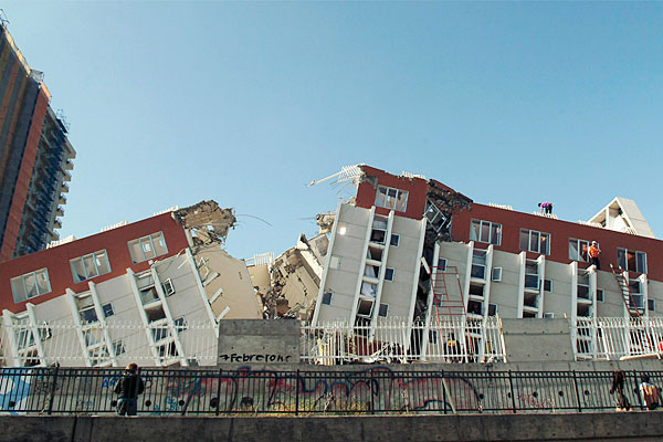Gempa Bumi Chile dalam Gambar | eRDe